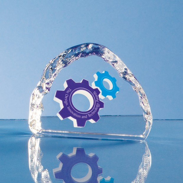 9.5cm Optical Crystal Ice Block