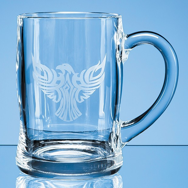 0.45ltr Curved Plain Tankard