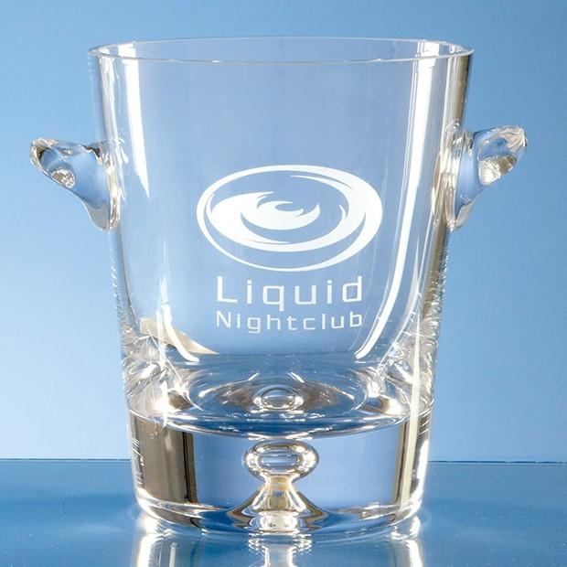 0.8ltr Handmade Bubble Base Ice Bucket