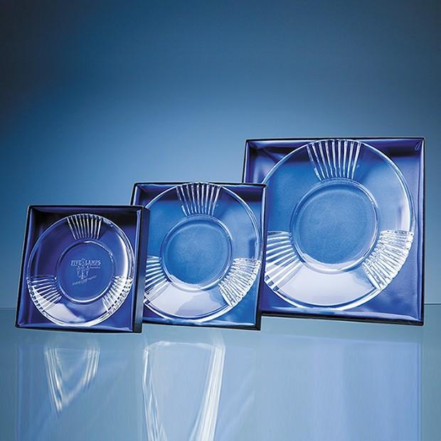 "9"" Plate Satin Lined Presentation Box"