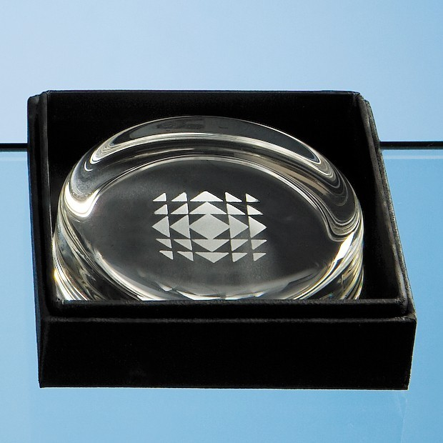 Small Paperweight Leatherette Box