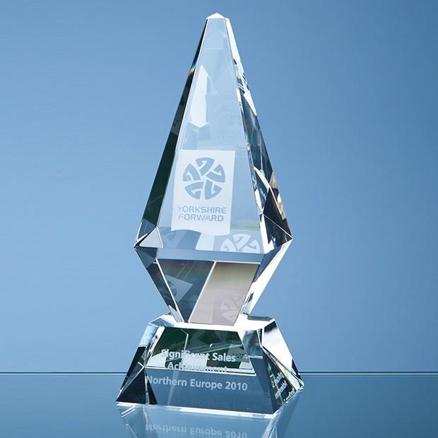 25cm Optical Crystal Glacier Award