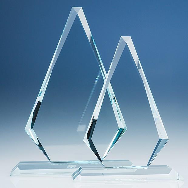 31.5cm CrystalEdge Clear Windsor Diamond