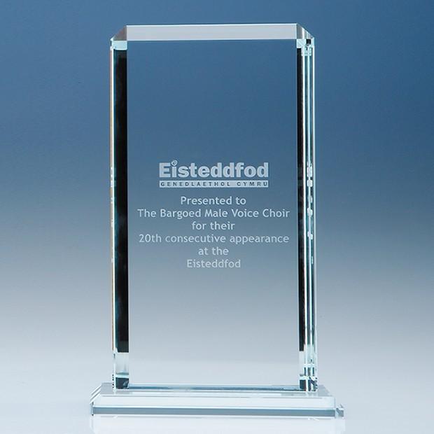 23cm CrystalEdge Clear Echo Award