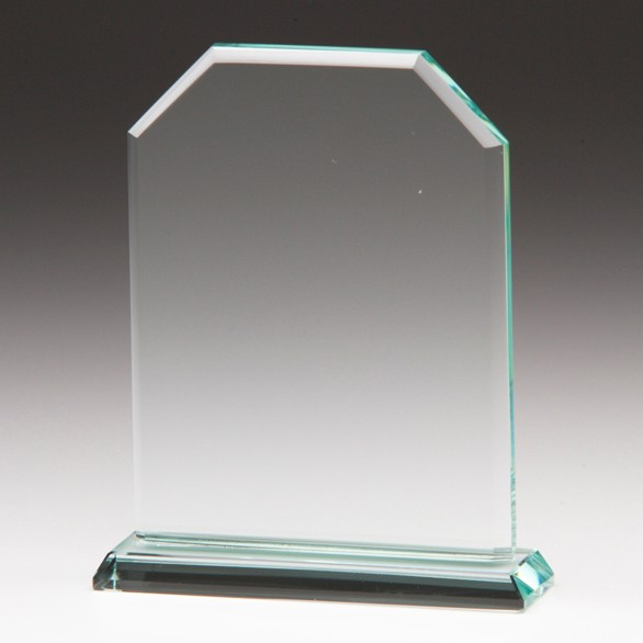 Jade Executive Crystal Award 125mm