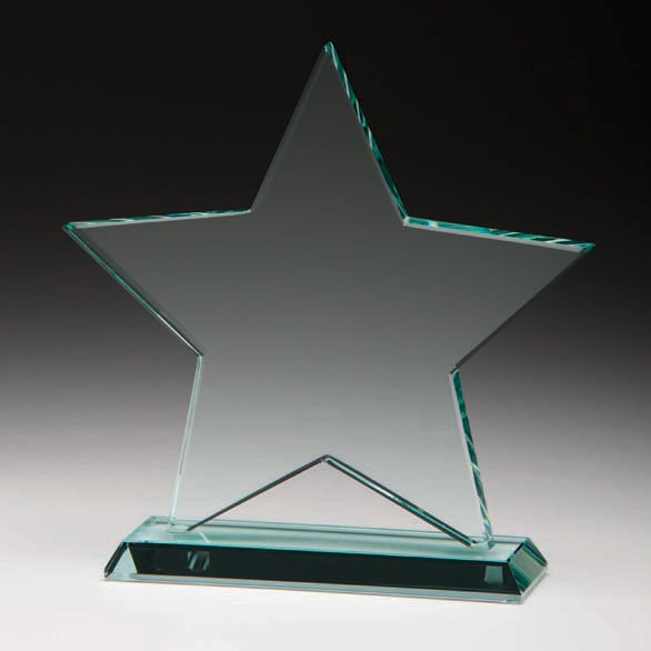 Jade Galaxy Star Crystal Award 135mm
