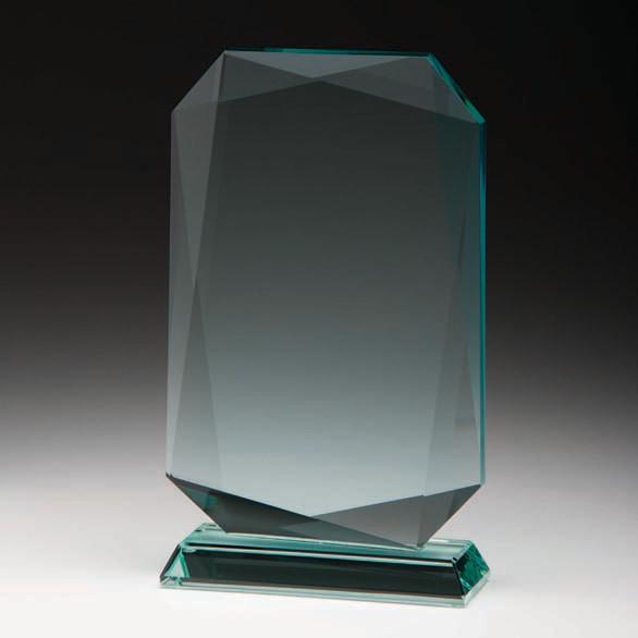 Jade Renegade Crystal Award 170mm