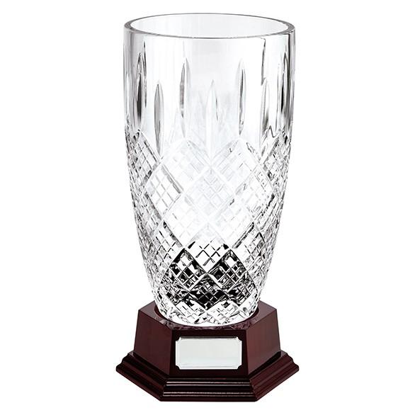 St. Bernica Crystal Vase 240mm