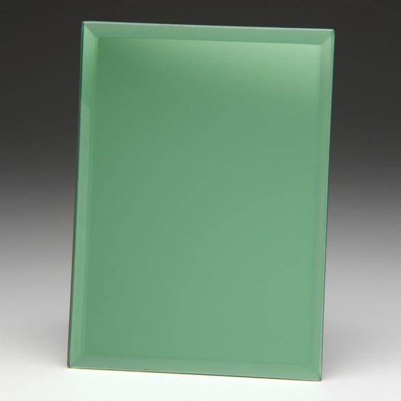 Emerald Green Mirrored Plaque 150mm