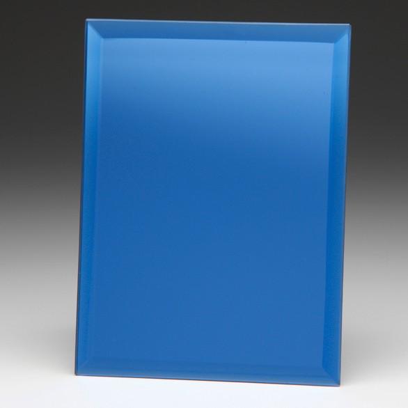Azzuri Blue Mirrored Plaque 150mm