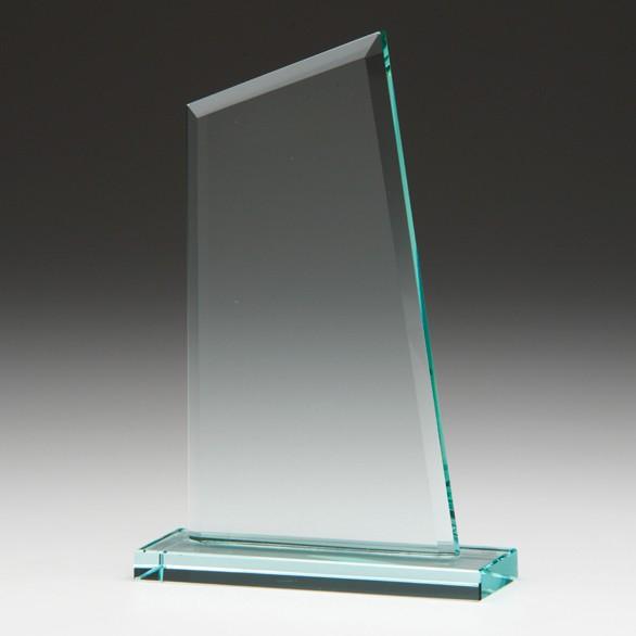 Jade Vanquish Crystal Award 150mm