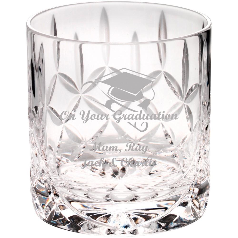 8.5cm 290Ml Whiskey Glass - Blank Panel