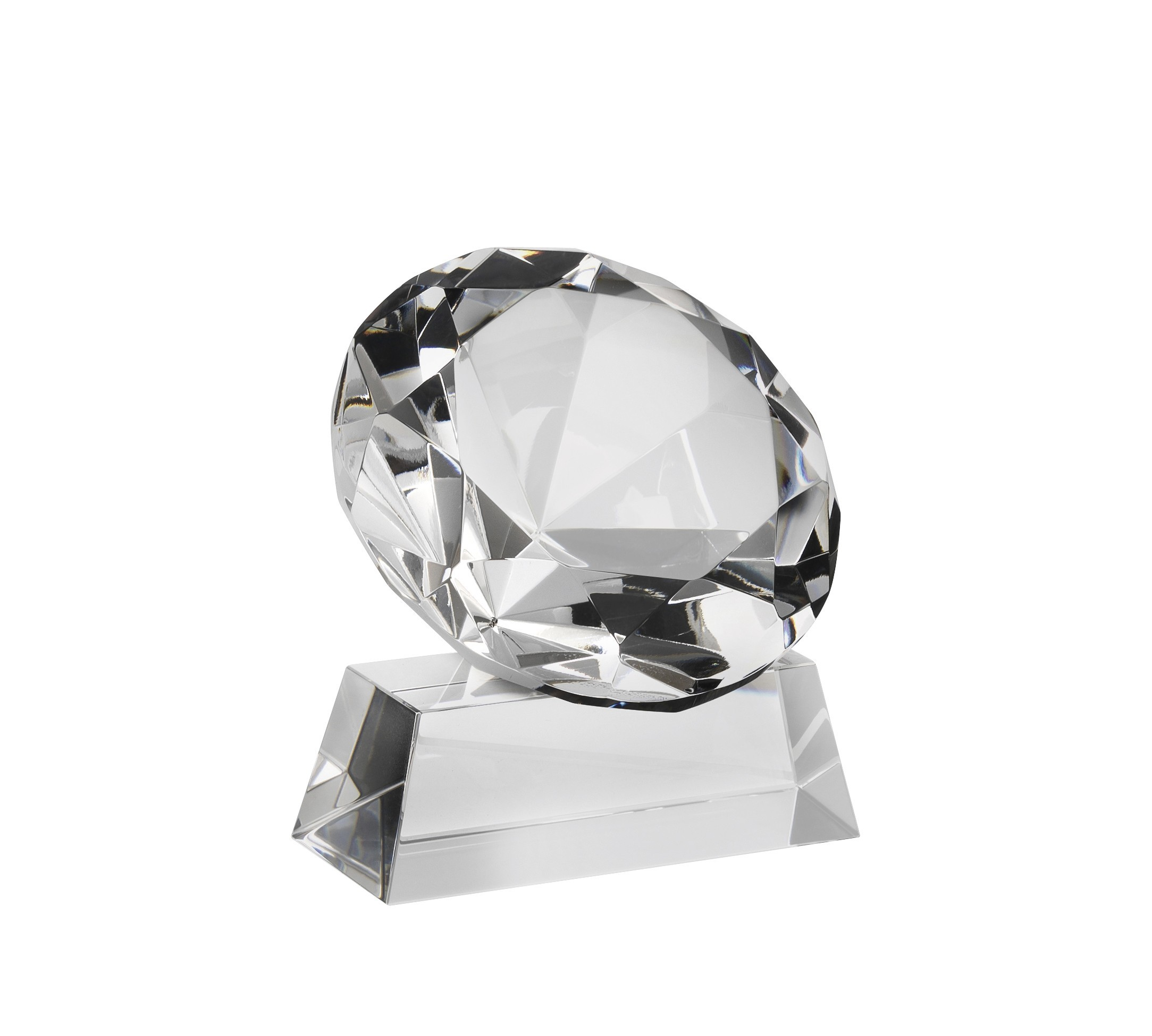 26cm Crystal Star Award
