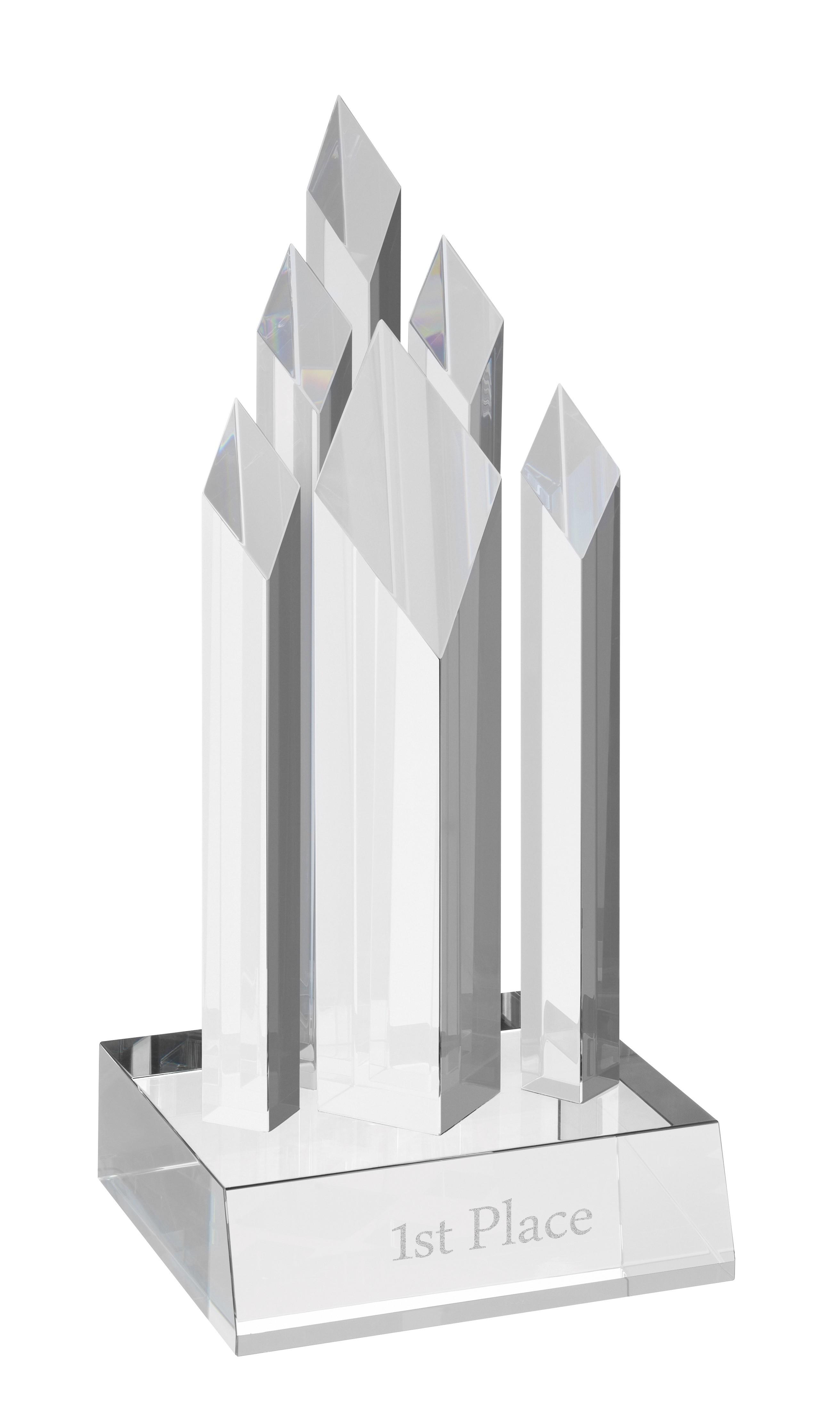20cm Crystal Award
