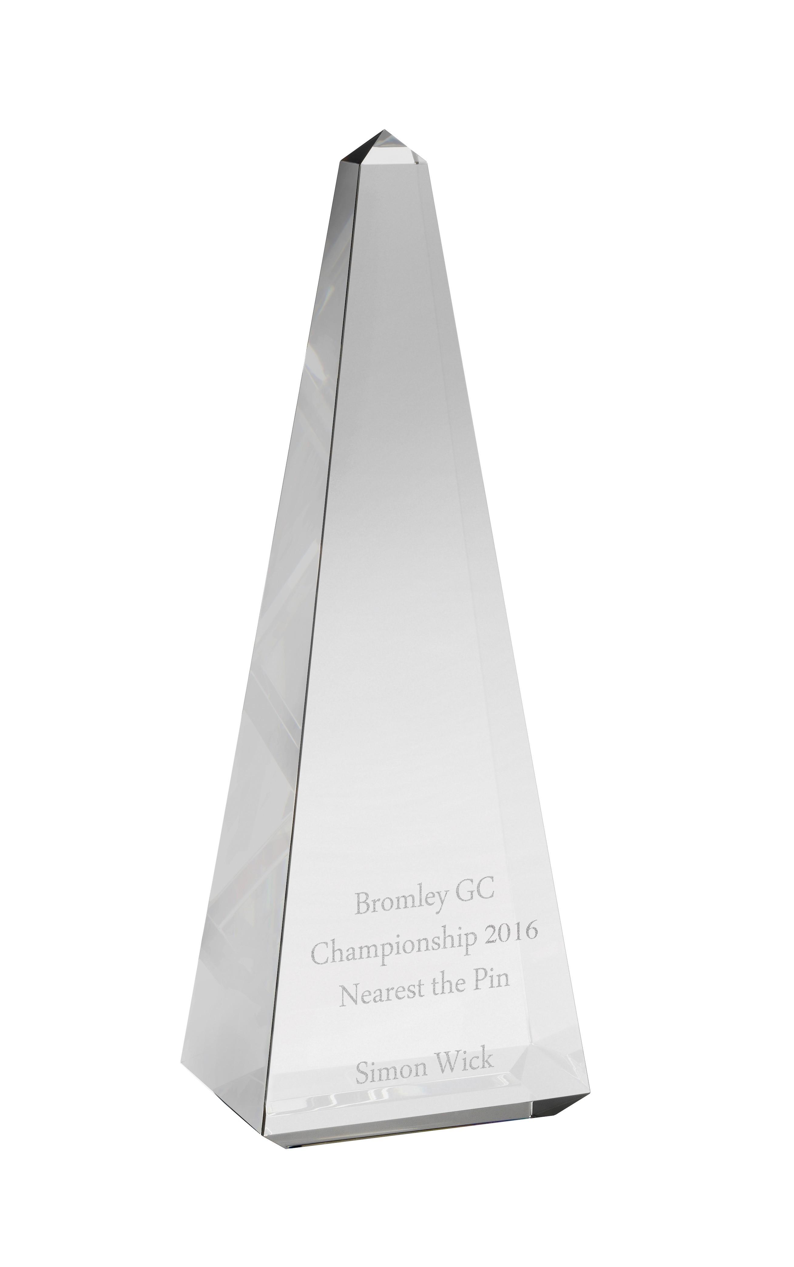 25cm Crystal Award