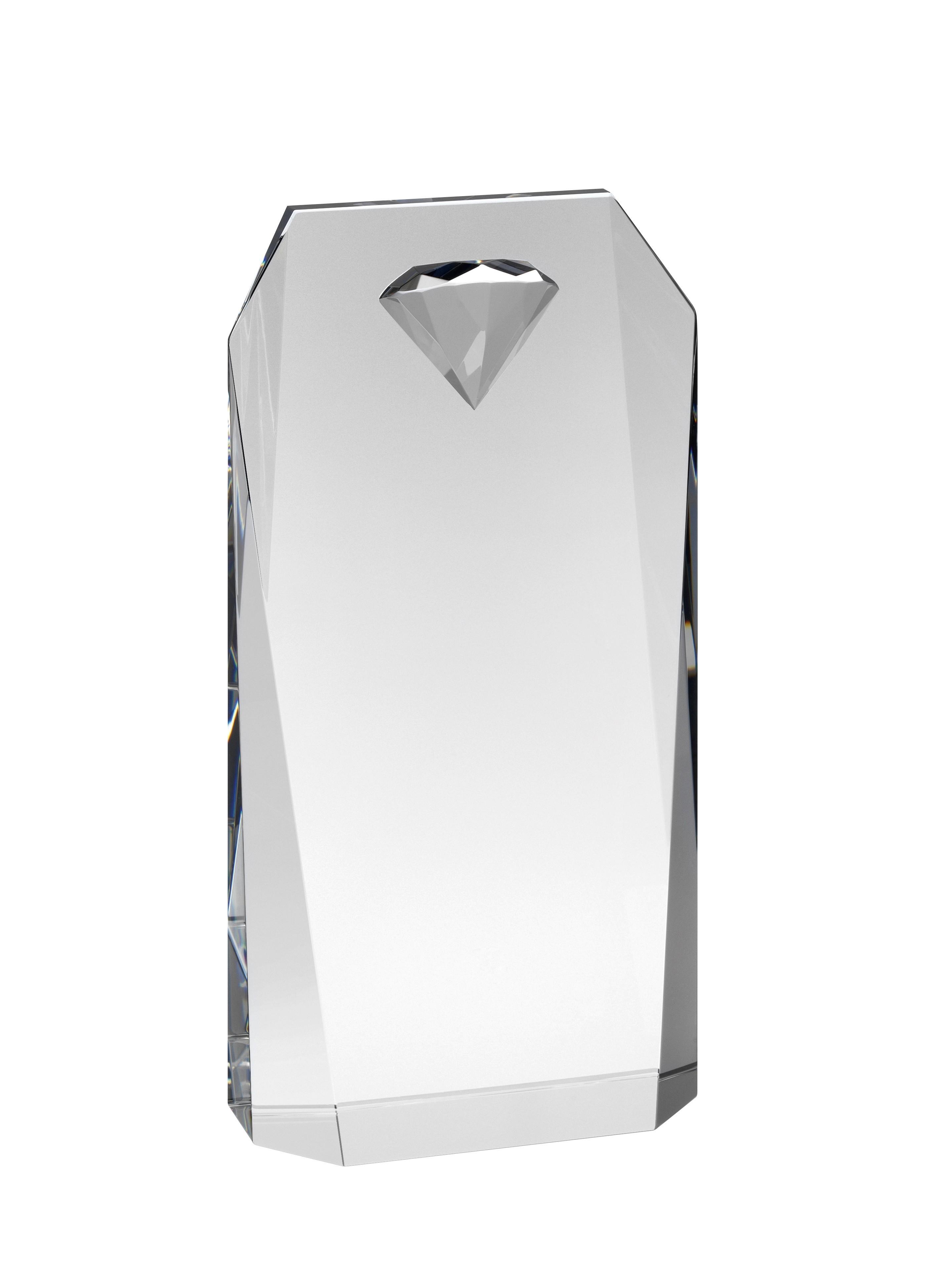 15cm Crystal Diamond Award