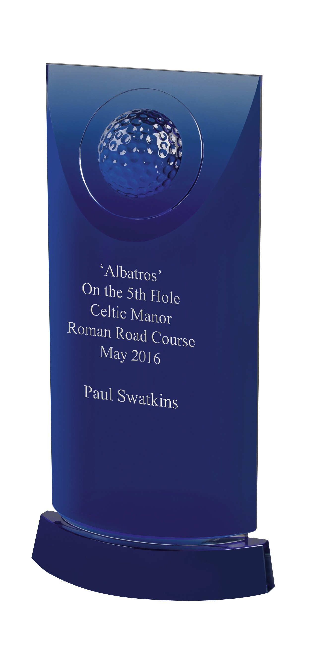 Blue Crystal Golf Award