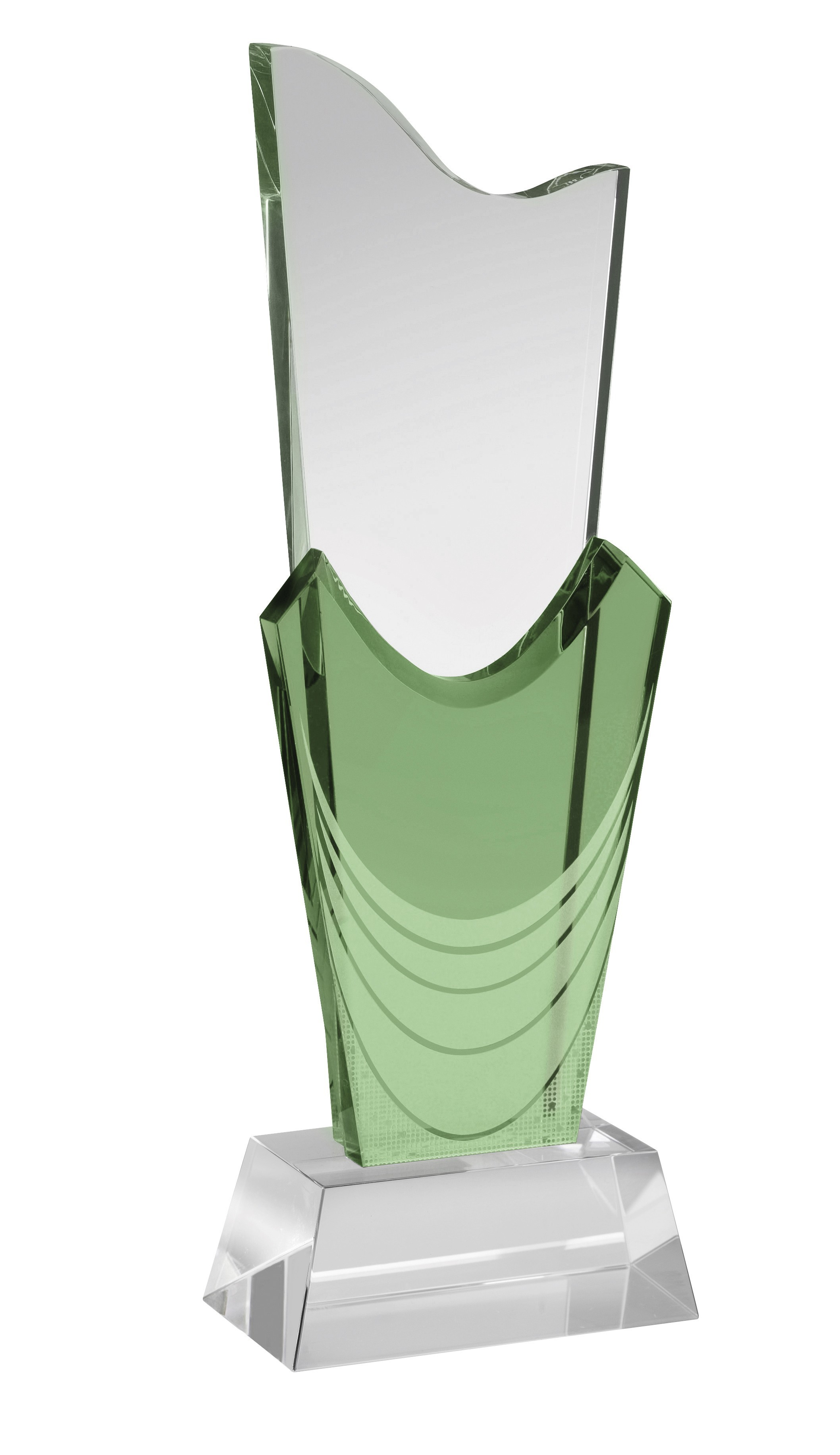 25cm Crystal Award Boxed