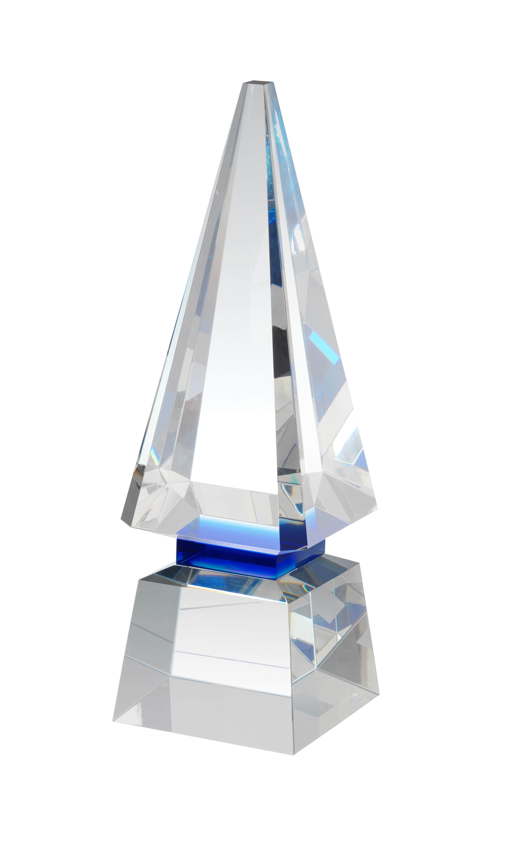 28cm Sig Crystal Award in Box