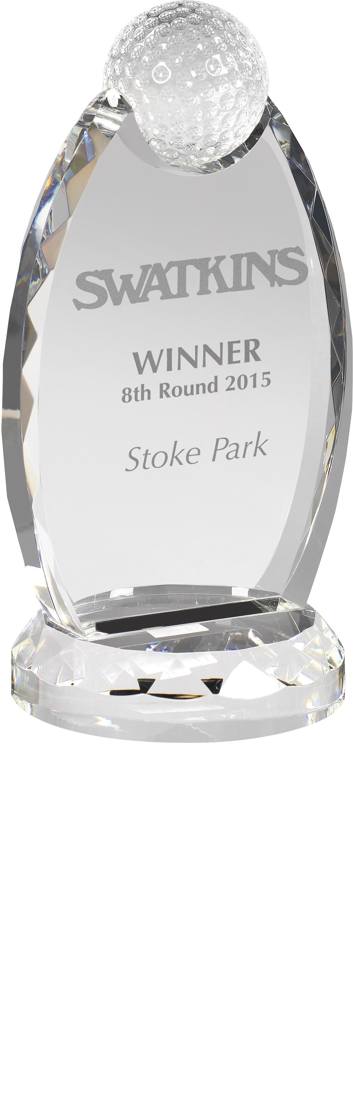 Optical Crystal Golf Award