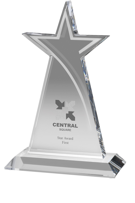 16cm Optical Crystal Star Award
