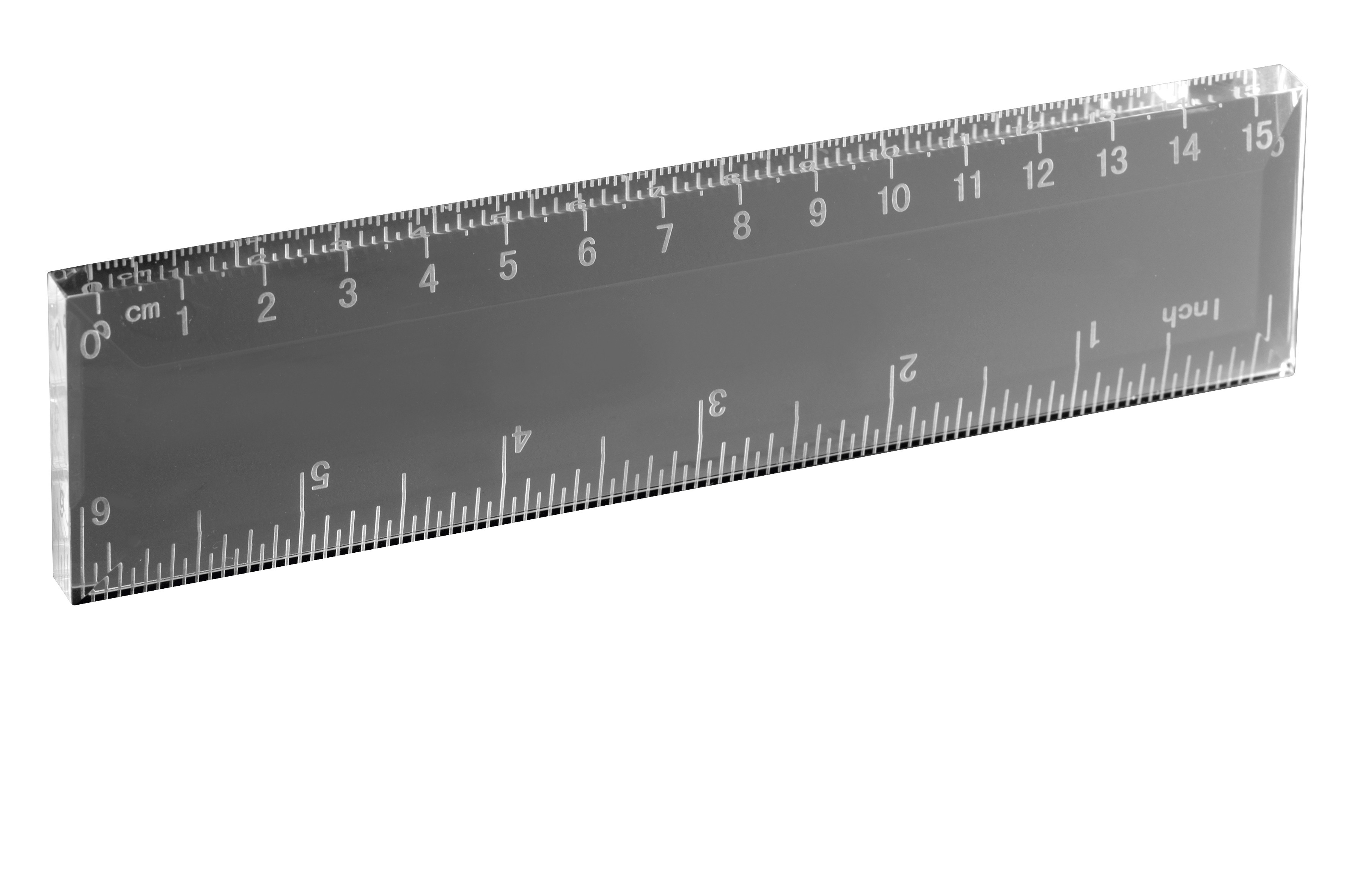 Optical Crystal Ruler