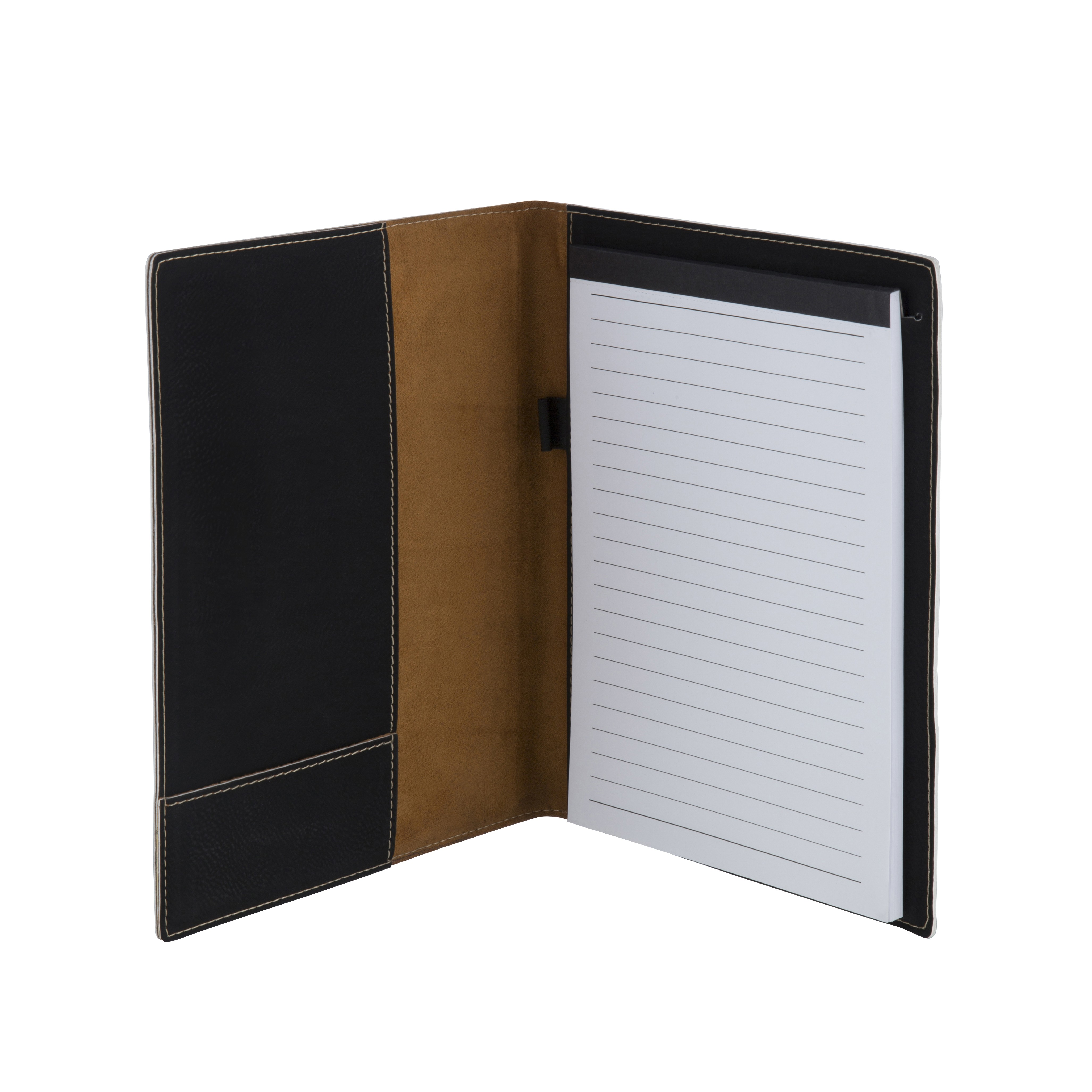 Leatherette Black A5 Notepad and Document Holder