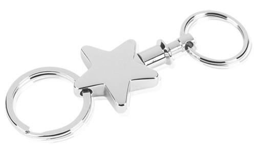 Star Key Ring