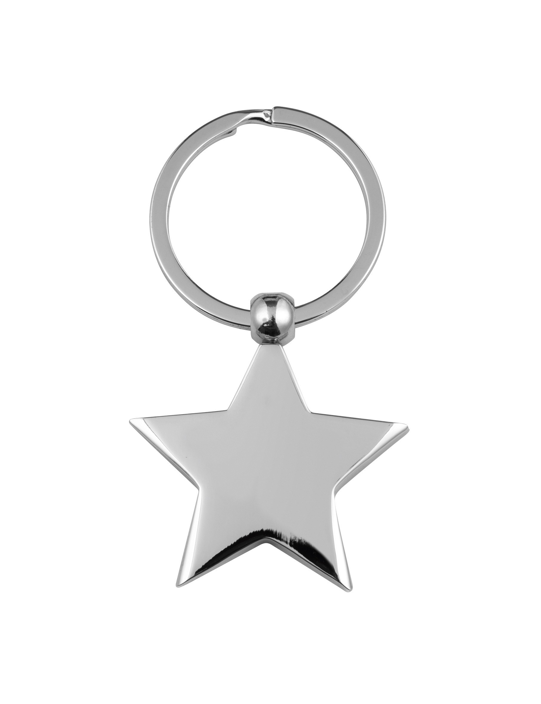 7cm Star Key Ring