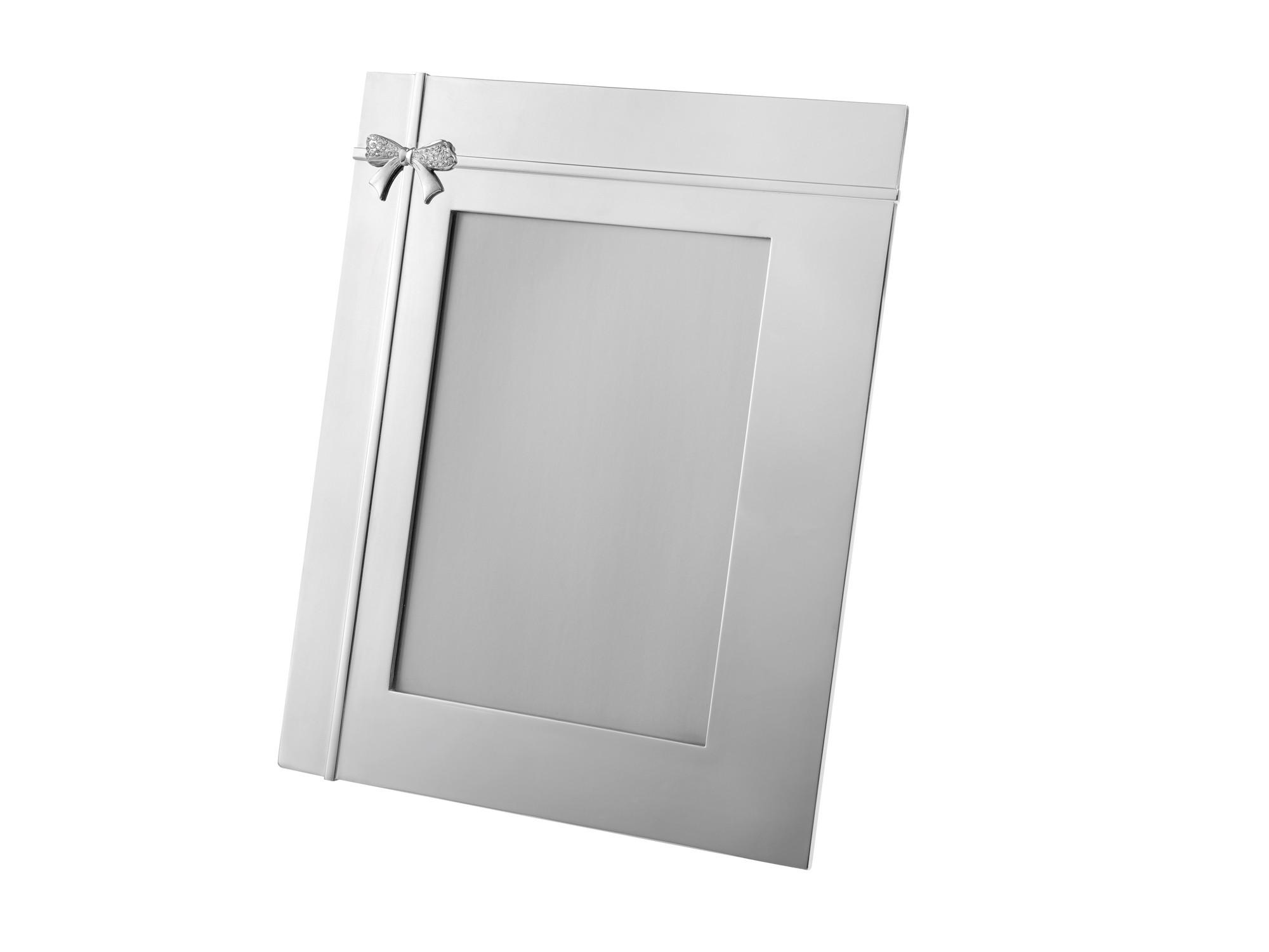 24cm Crystal Bow Photo Frame