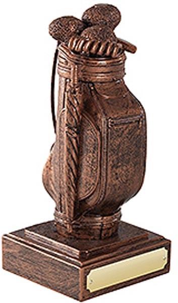 Golf Bag - Antique Copper Finish