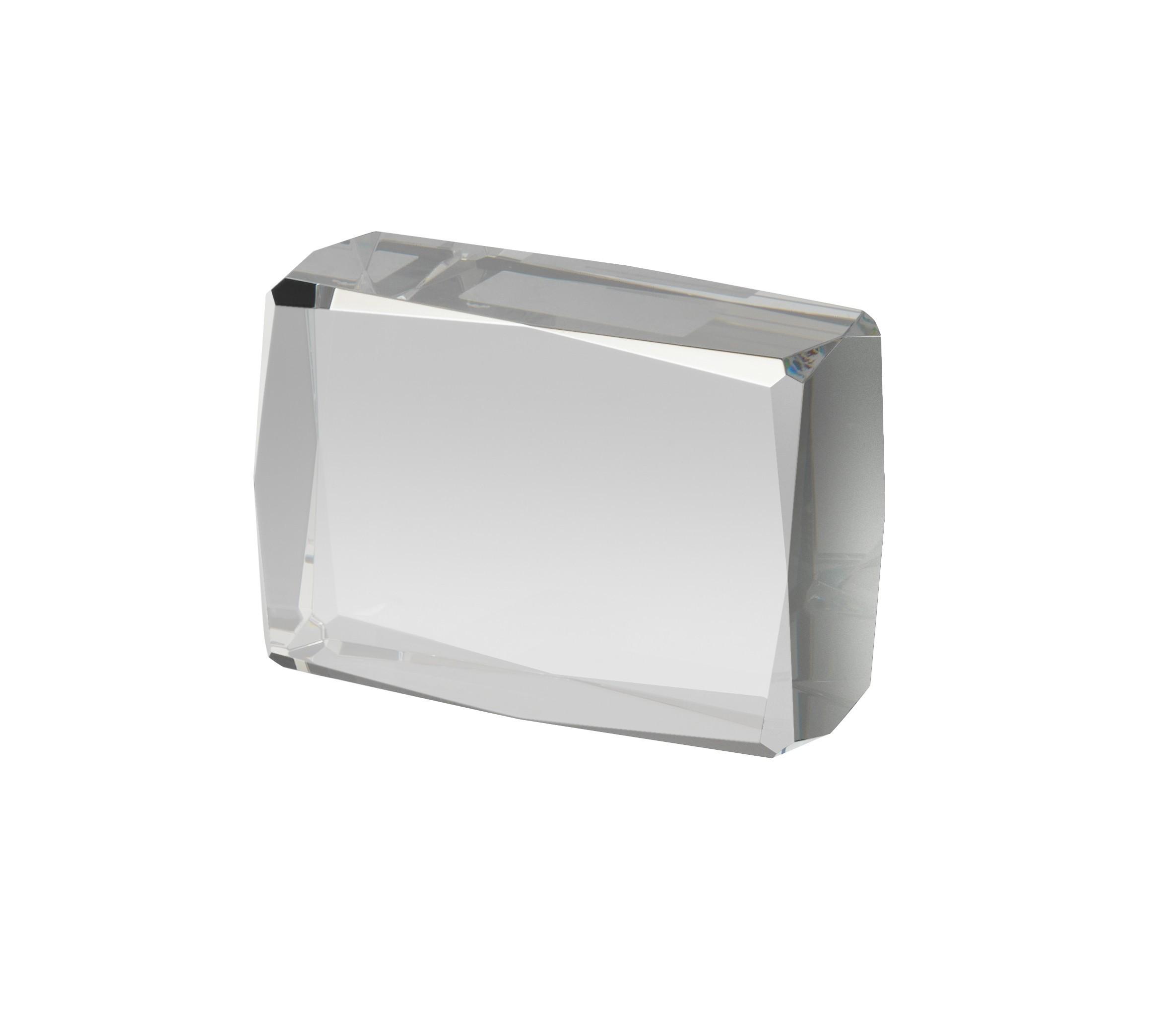 10cm Crystal Block Award in Box