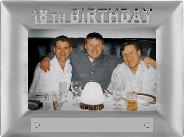 18th Birthday Photoframe