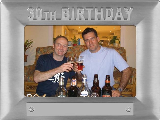 30th Birthday Photoframe