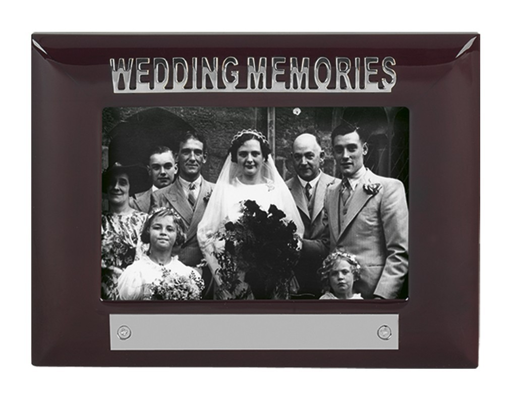 Wedding Memories Photoframe