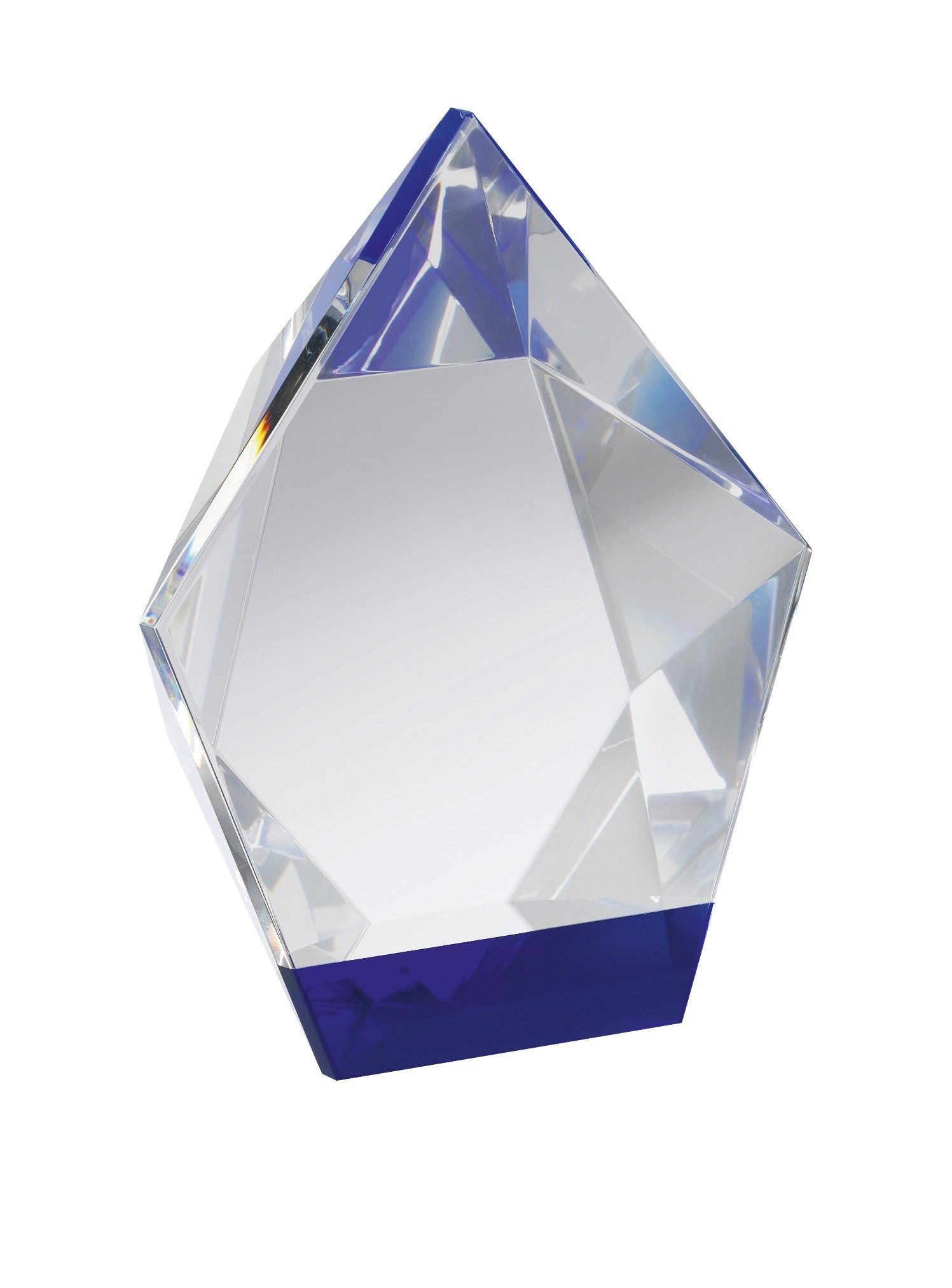13.5cm Blue & Clear Crystal in Box