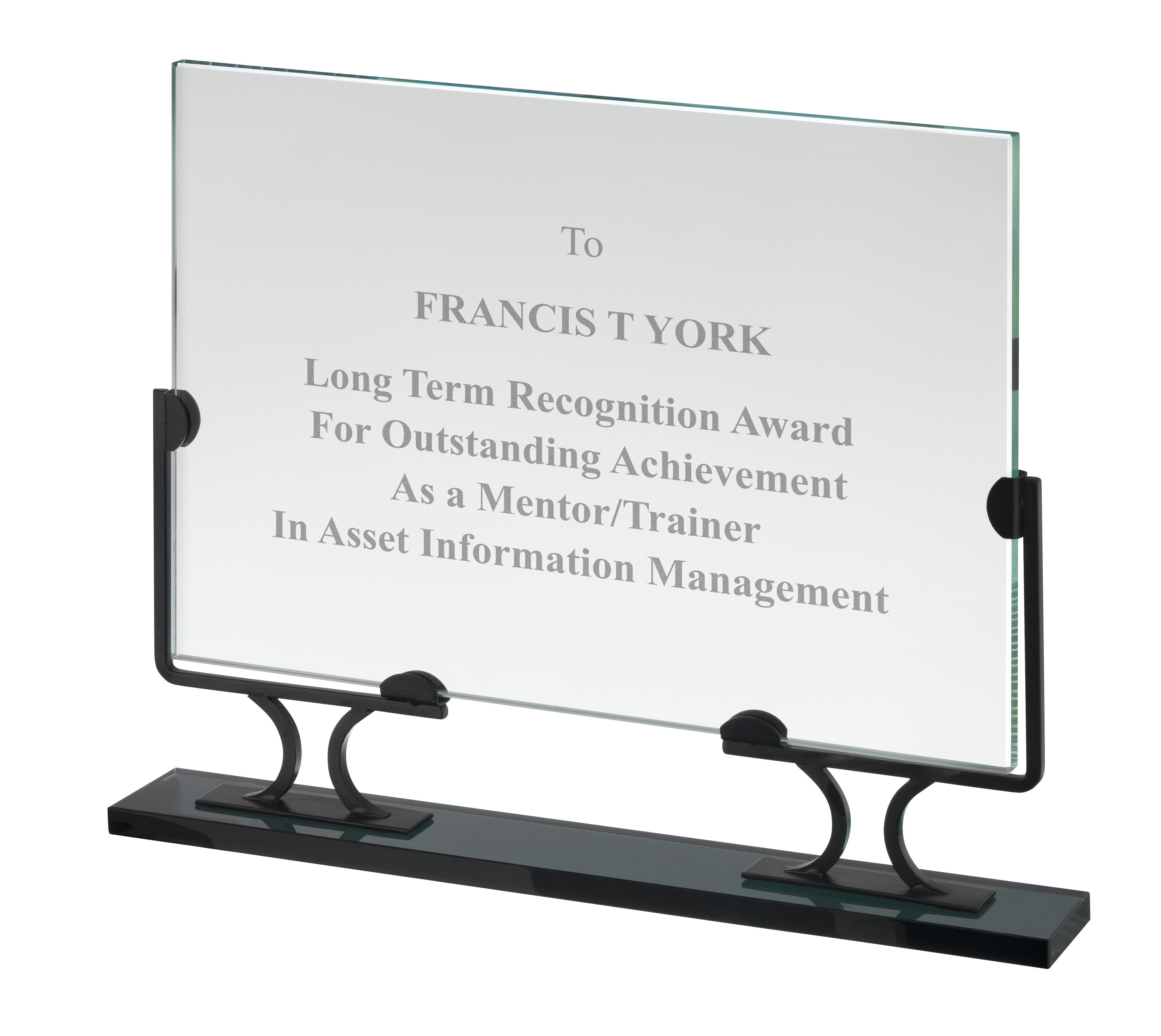 20cm Crystal Award in Box