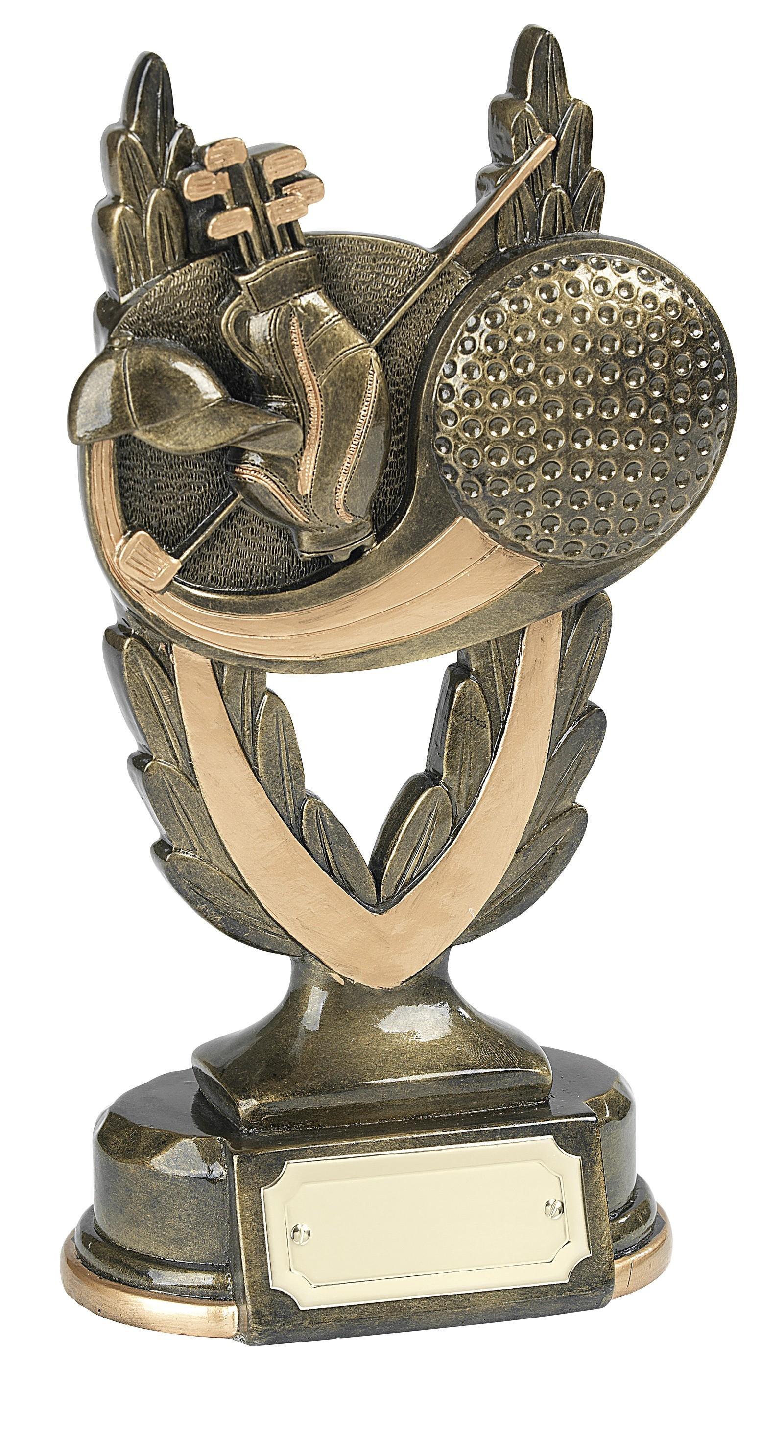 15.5cm Golf Award