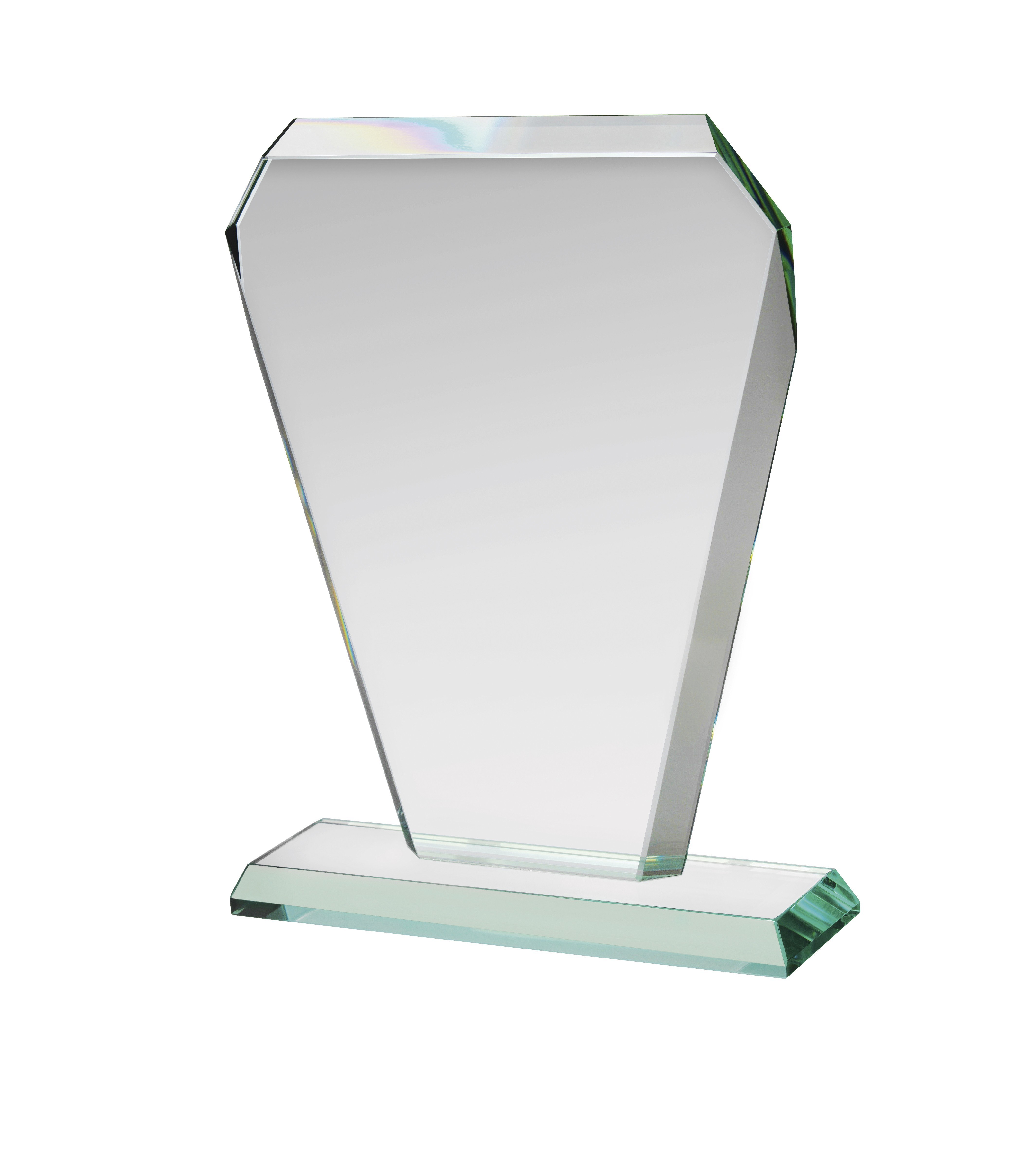 17cm Jade Glass Award in Box