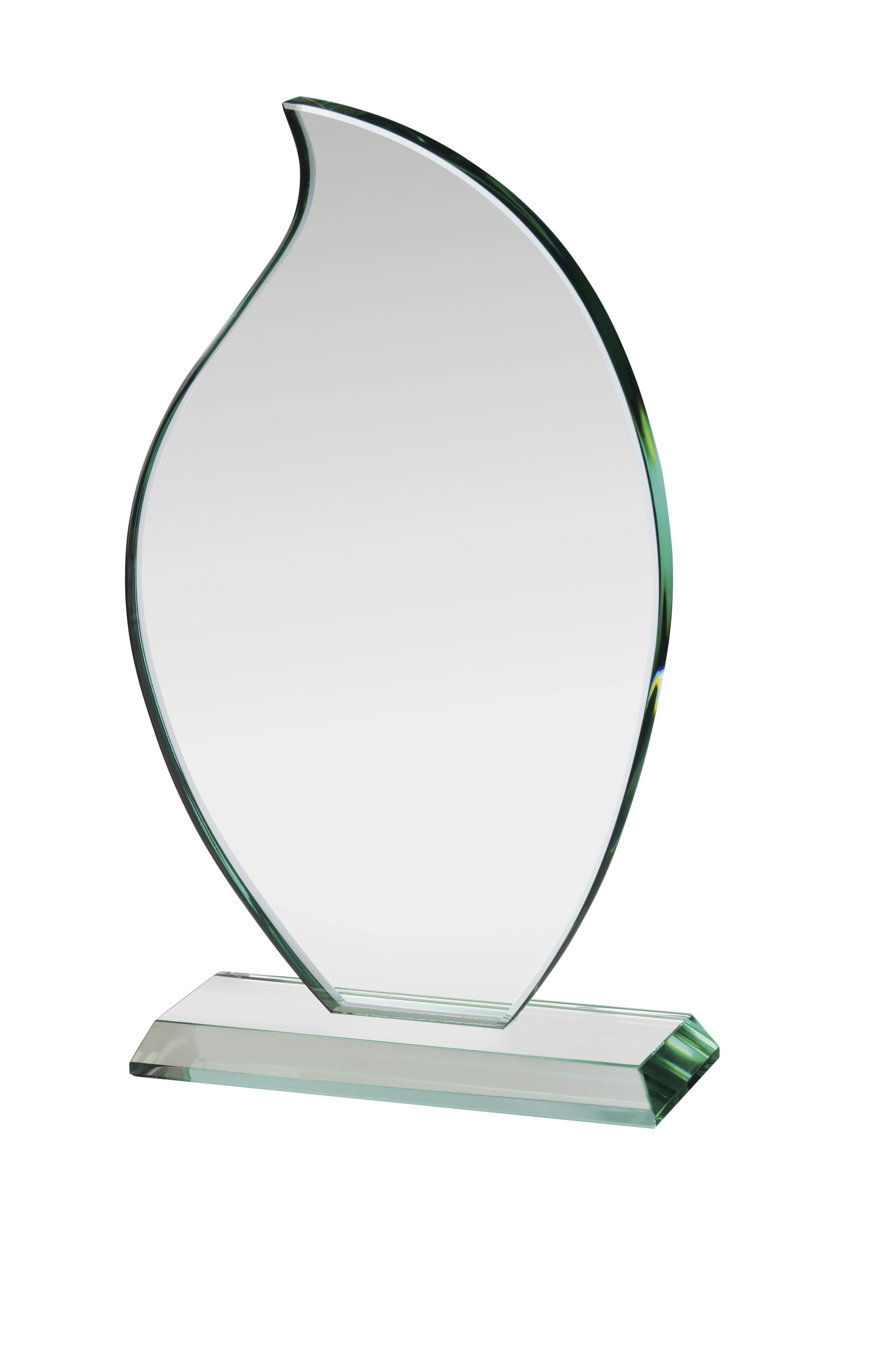 20cm Jade Glass Award in Box