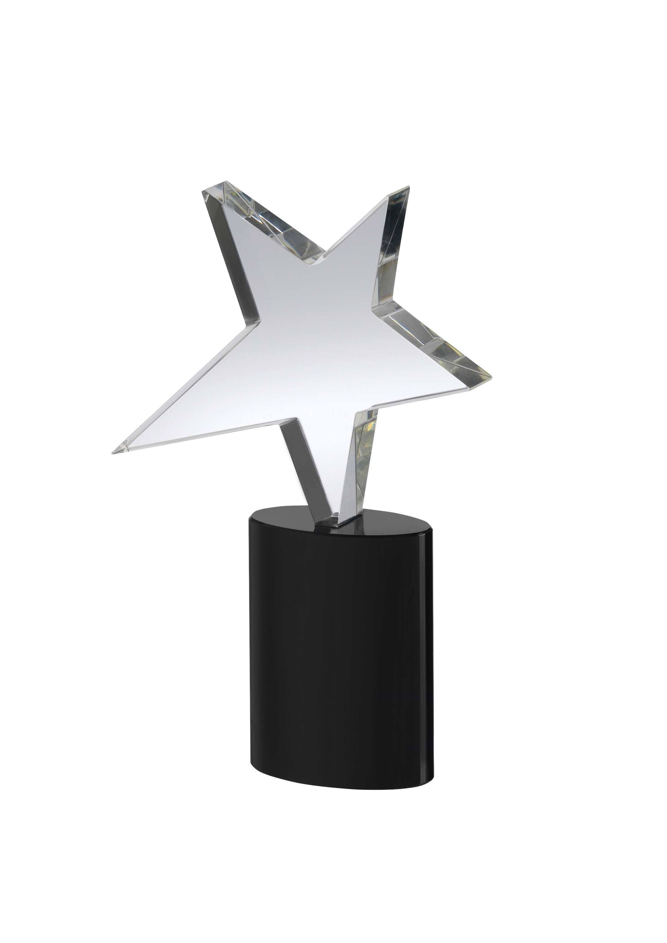 18cm Crystal Star Award in Box