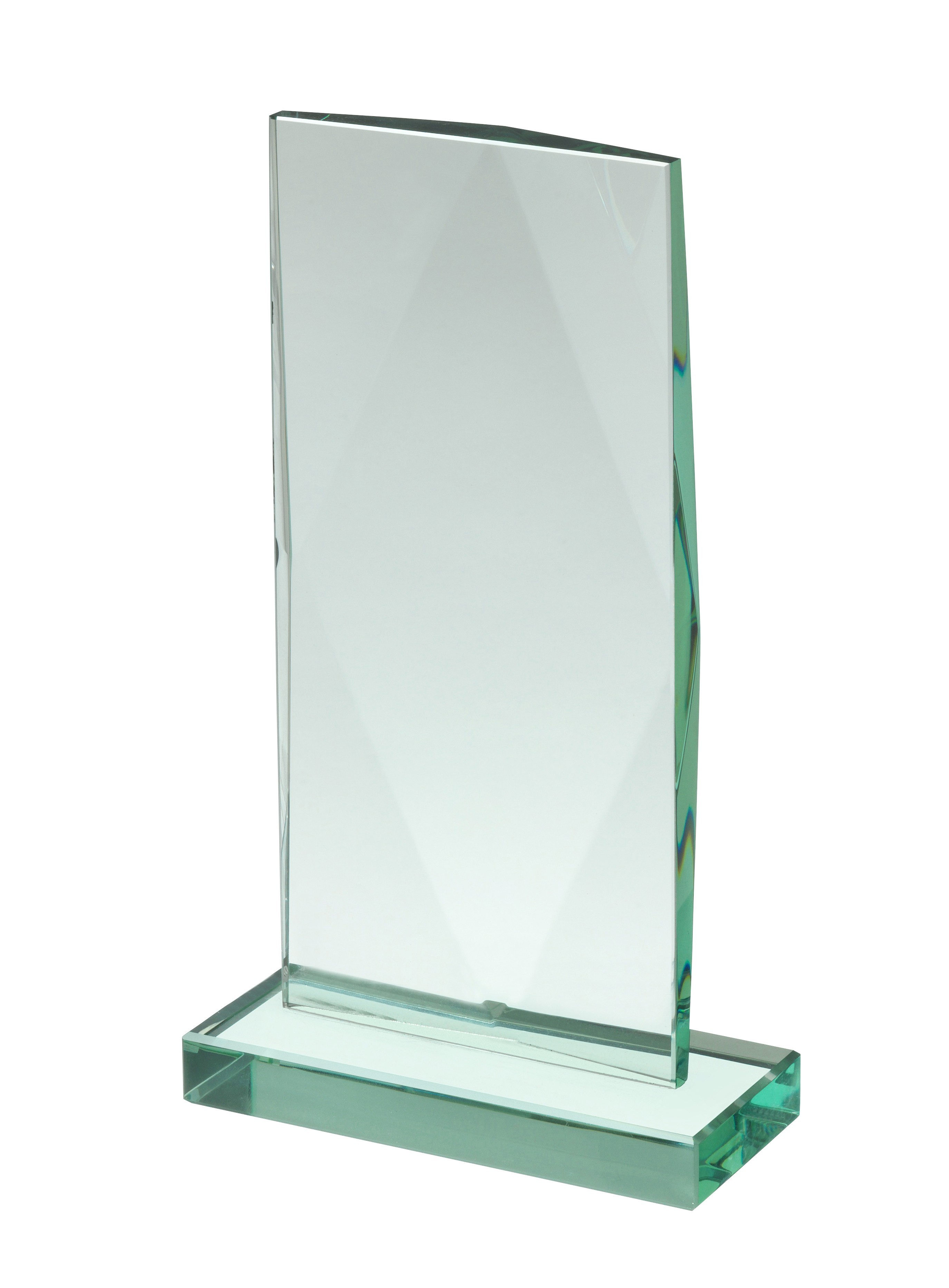20cm Jade Glass Award in Box