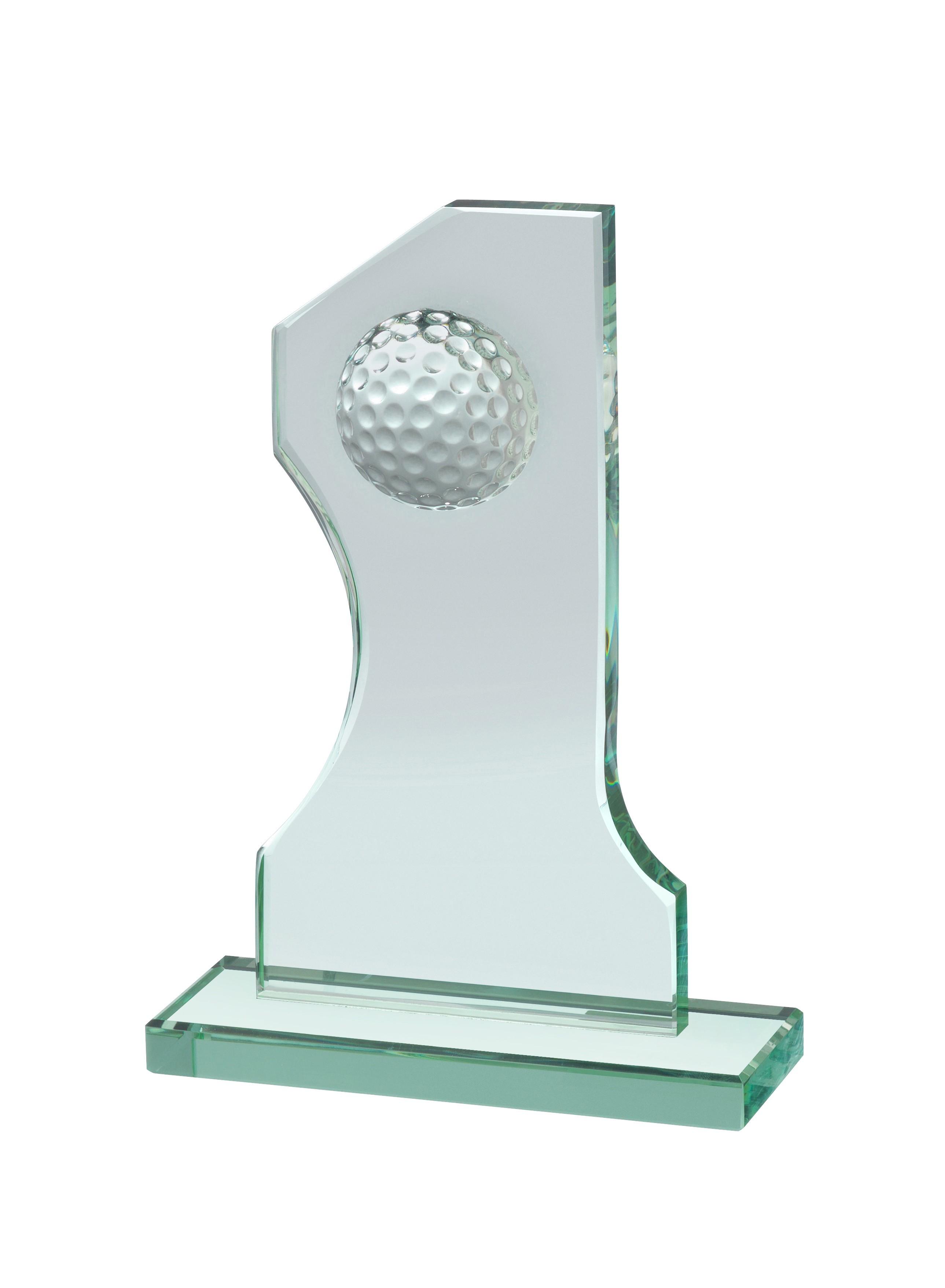 21.25cm Golf Glass Award
