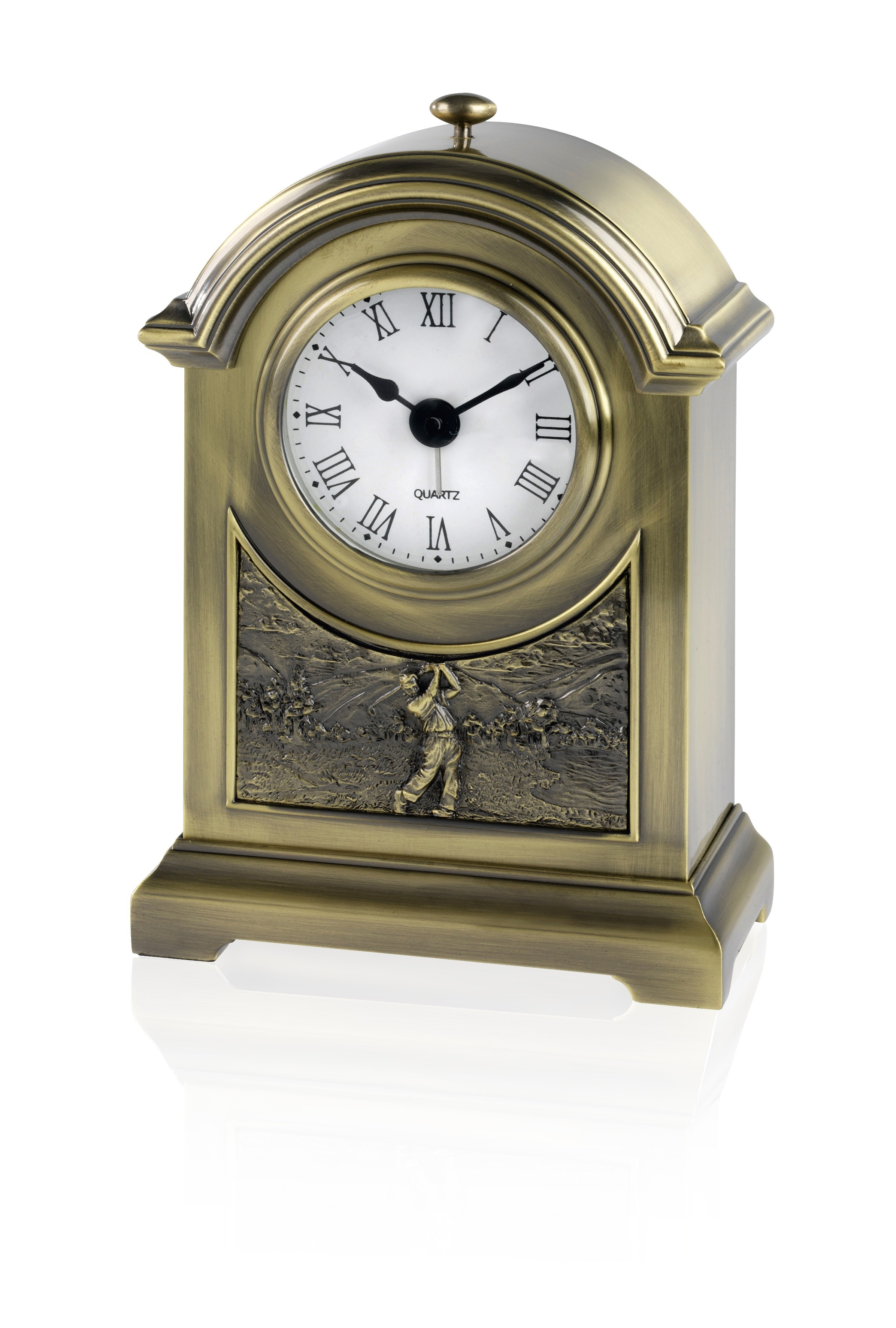 Ant Brass Arch Golf Clock