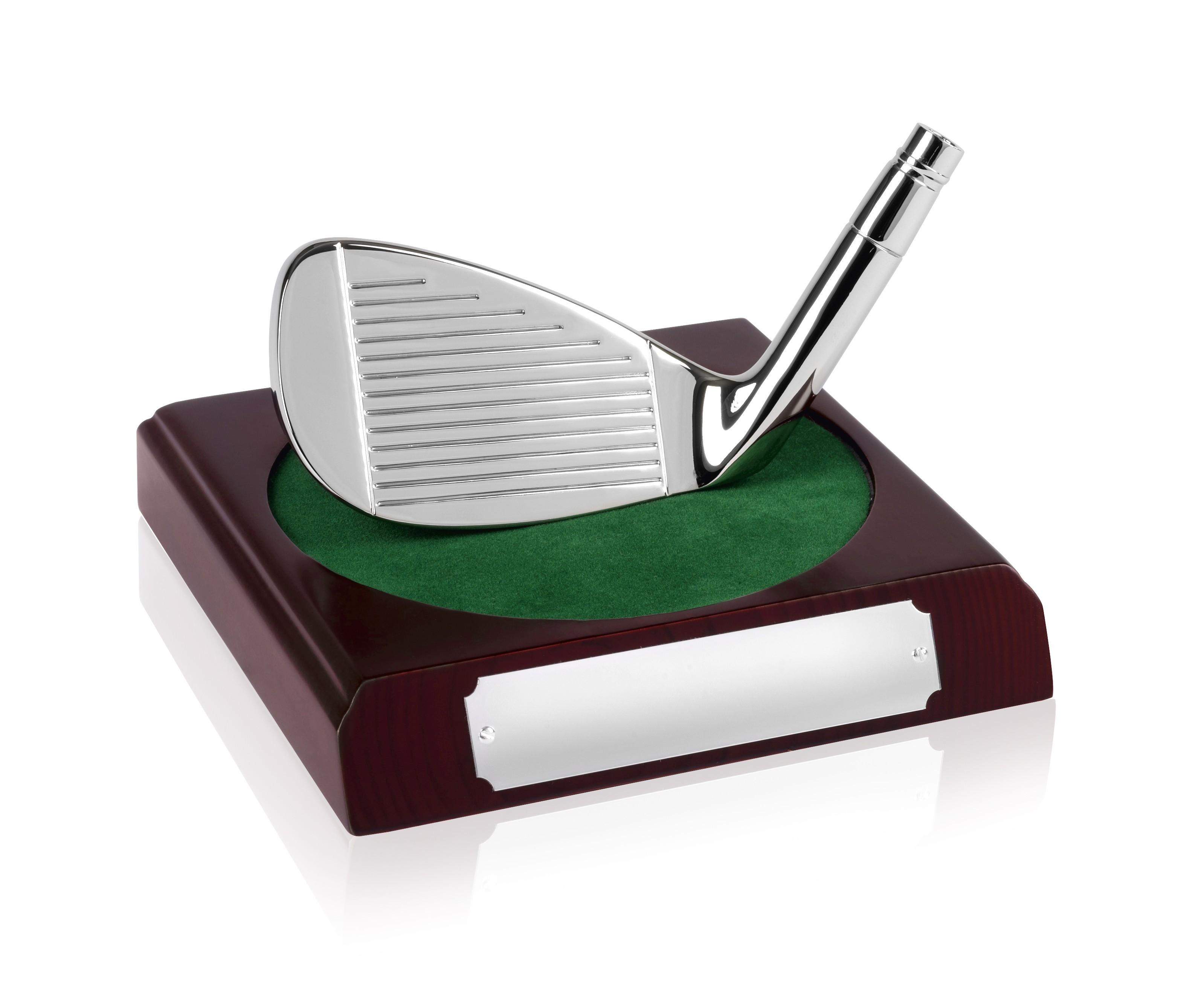 Golf Iron on Base