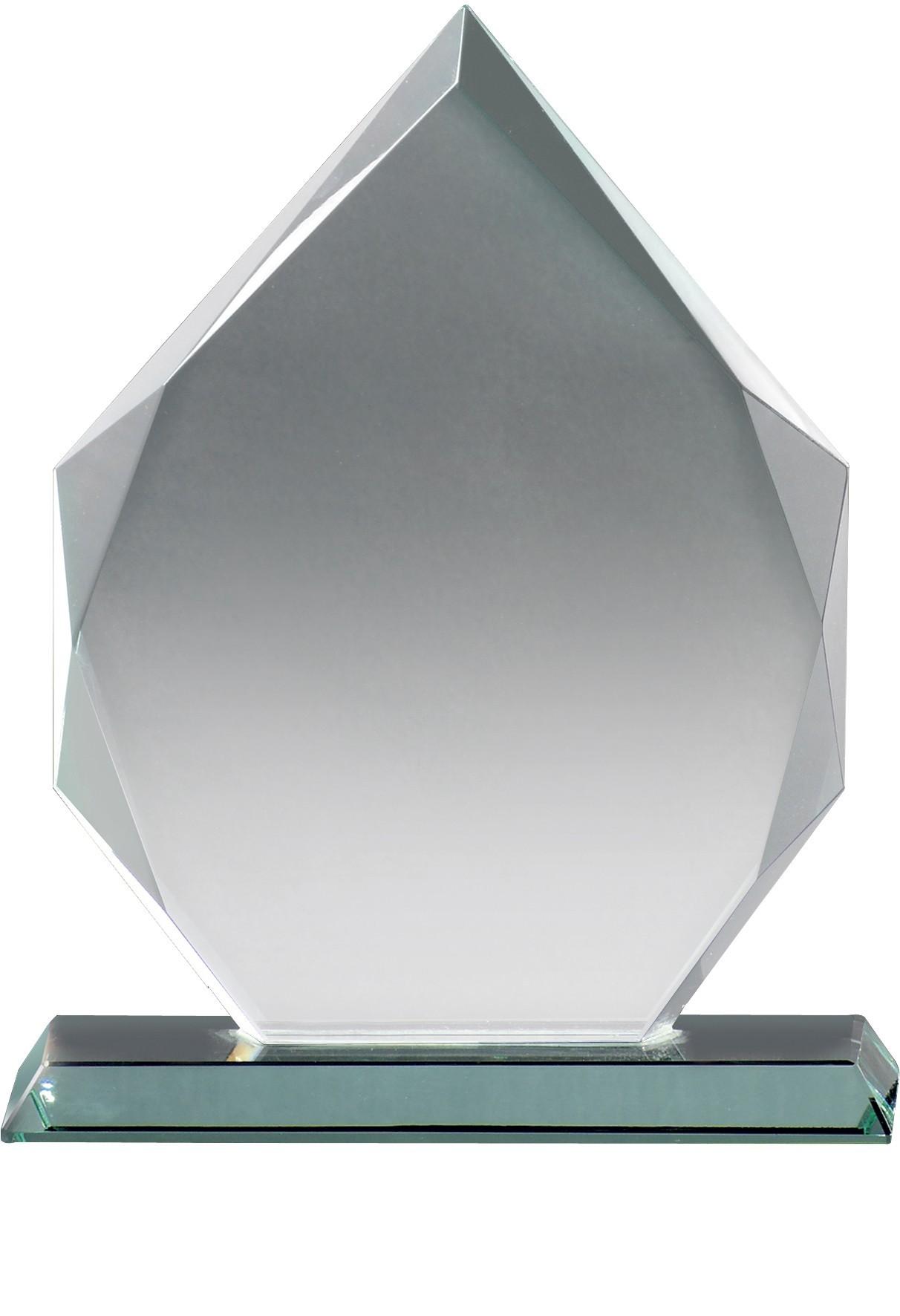 17cm Jade Glass Award