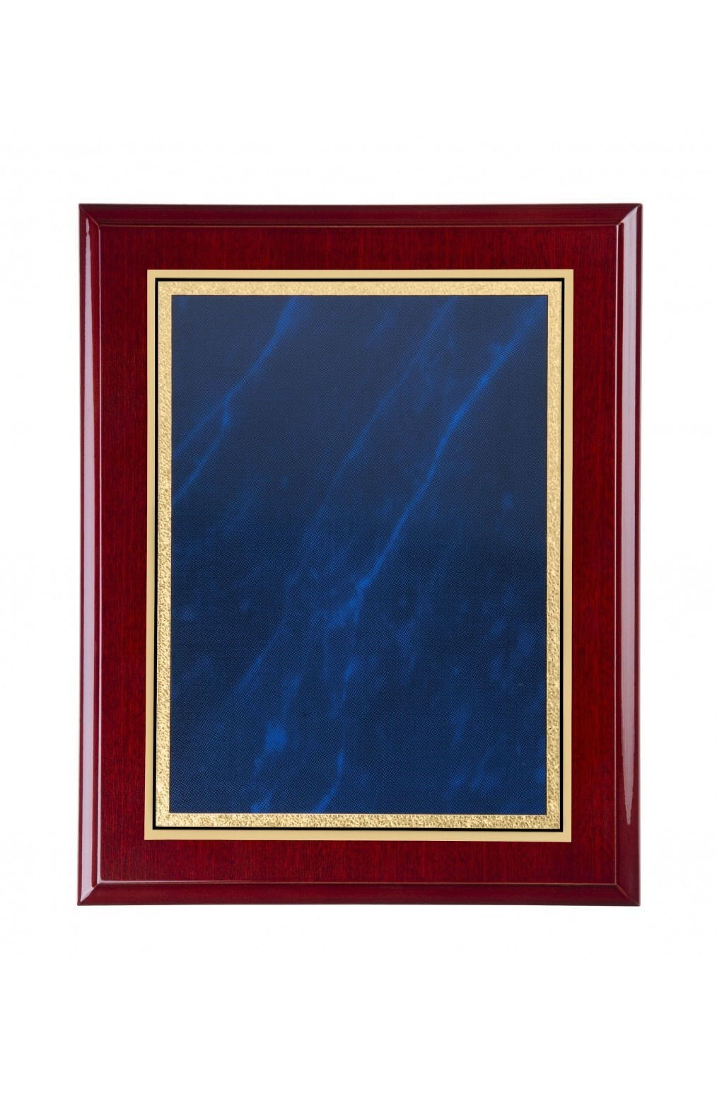 22.5cm Rosewood Plaque with Front