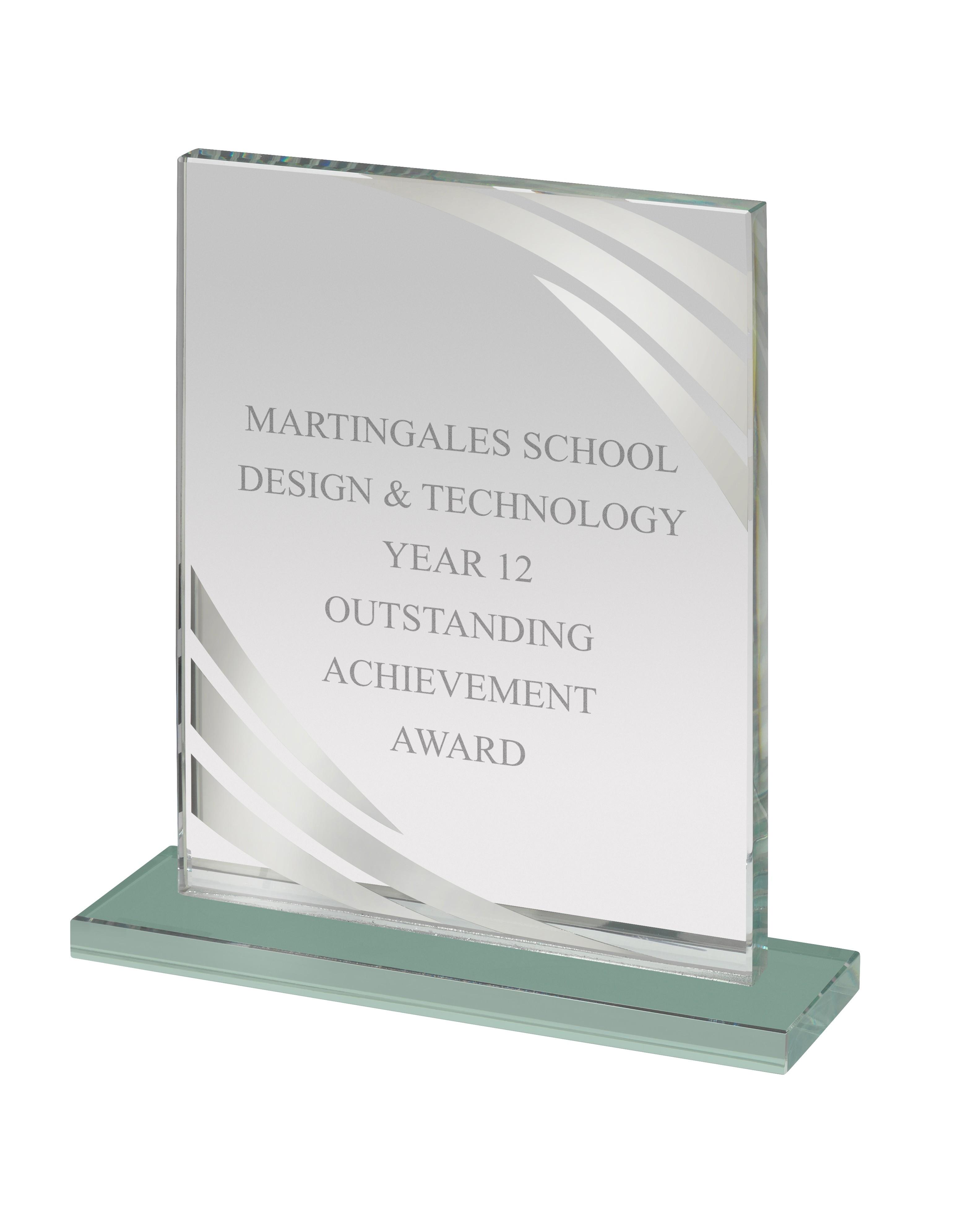 Glass Award in Box