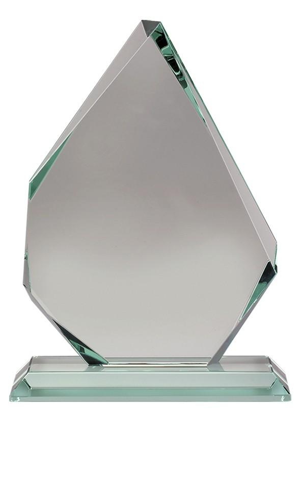 13cm Jade Glass Award