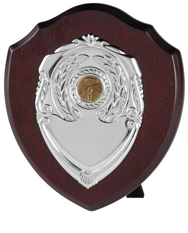 Shield with Laurel Front